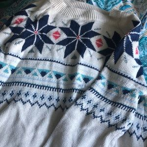 Old Navy Winter Patterned Sweater